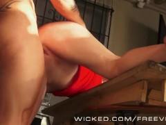 Wicked - Trashy Milf Darla Crane takes a big load
