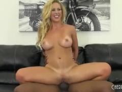 Cherie Deville fucks on cam