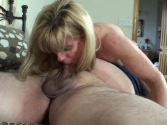 Very Petite Mature Blonde has Crushing Hard Sex with A BHM Pornhub Fan