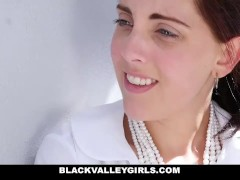 BlackValleyGirls - Geeky Ebony Teen Gets Fucked