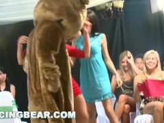 DANCING BEAR - Crazy Party Girls Get Fucked By Male Strippers