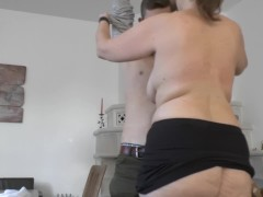 MILF fucked by the young student