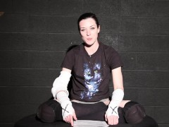 Stoya does Wrestling Speeches