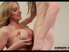 ConorCoxxx- let's Play while Dad's away with Julia Ann