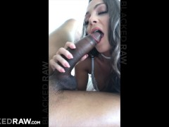 BLACKEDRAW Classy businesswoman loves BBC on the side