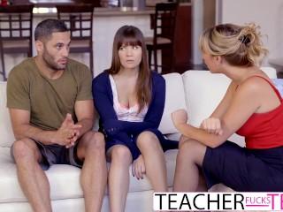 Študenti vezmú do trojky učitelku