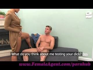 Agentka potrebuje okúsiť penis