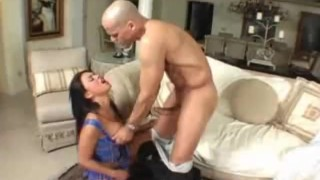 Eva Angelina - Rock Hard #2 - Scene 1 cumshot deepthroat big-tits piercing hardcore big-dick asian blowjob riding cum pornstar facial