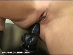 Vivian West Goes Crazy On The Dildo