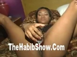 Worlds Biggest Black Pussy gets Fucked with big toys