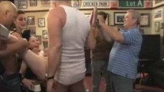 Massive Public Gangbang! sclip orgy hardcore spanking spank flog bdsm bondage rough-sex kink-com publicdisgrace-com submission fetish