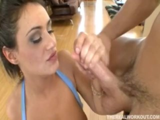 XXX porn - estel-two: Booty And Busty Charley Chase Riding Her Trainer Like There's No Tomorrow