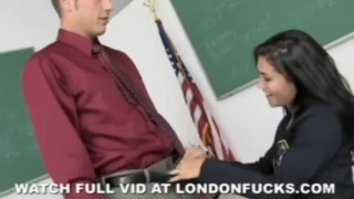 Schoolgirl Gets Fucked sclip cumshot teacher asian big-tits reality big-ass blowjob londonfucks-com schoolgirl pornstars
