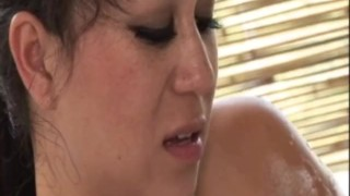 Masseuse offers Anal Sex during a Nuru Massage  sclip kissing nurumassage.com couple asian cumshot tattoo massage shower brunette oil anal hand job huge tits