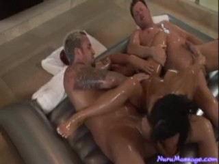Asa Akira Handles 2 Cocks Like a PRO