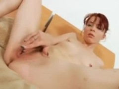 Pale Redhead Spinner Blows A Lucky Dude