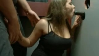 One friend convinces the other to visit a sex store with glory holes  big tits bdsm french blowjob amateur public fetish kinky throat fuck bondage hclip party publicdisgrace.com fake tits deep throat spanking