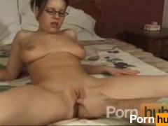 Big tits slut gets her pussy rubbed and licked