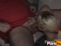 Group cock sucking on the boat at night