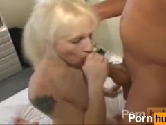 Real blond fucked in hotel bedroom