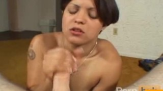 Hot MILF gives head