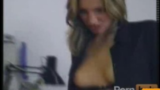 TIGHT Blonde secretery gets double fucked at the office  panties riding pussylicking blowjob cumshot cum orgy milf hardcore office pussy reality groupsex doggystyle facial double penetration