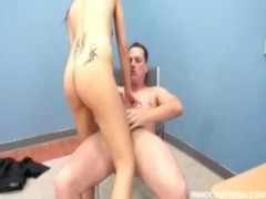 Skinny Tristan getting fucked hard by her professor