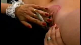 Blow smoke in my pussy!!  close up big tits ass lingerie teasing blonde pornstar fetish milf couch lesbian pussy wet cougar fingering mother stockings rubbing