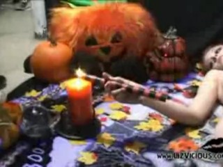 Liz On Halloween
