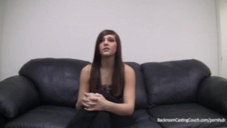 Ass Fucked & Creampied. No Job.  casting couch homemade hclip creampie audition amateur blowjob cum young brunette anal backroom office backroomcastingcouch.com