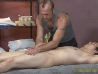 First Time Sexual Rub Down