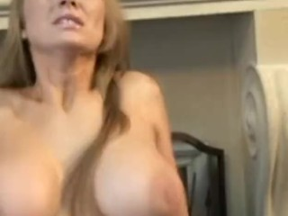 Bouncy Big Boobs Abby Rode Cock Riding
