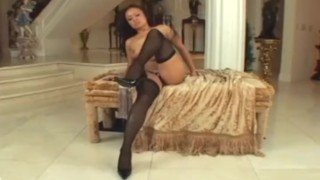 Petite asian milf fucking in seamed stockings and stilettos sclip stilettos nylons 69 pussy-eating milf seamed heels asian blowjob fucking small-tits stockings small-boobs pussy-licking petite