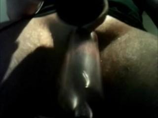 Meine Penispumpe zweckentfremdet als Eierlutscher