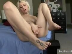 Proxy Paige Foot Fetish Daily Masturbation Video 3