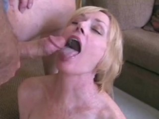 Wicked Melanie enjoys a big wiener!