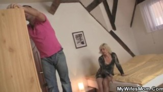 Preview 2 of Great scandal after fucking mother in law