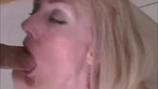 Melanie cuckolds hubby!  milf mature blow job homemade cuckold cumshot pov