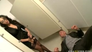 BIG TIT ASIAN OFFICE SLUT CAUGHT MASTURBATING IN HEELS & STOCKING bclip caught asian deep-throat blowjob masturbate office big-cock big tit big boob small-ass big-dick brunette orgasm reality brazzers skinny french