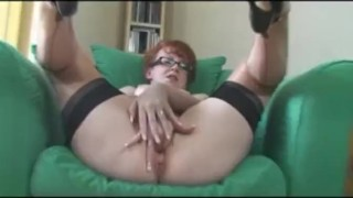 Super Hot Office Milf Fucks Her Pussy sclip big boobs mother stockingaces.com milf mature big tits mom redheads fingering housewife busty