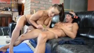Femdom with Liza Del Sierra female-domination femdom big-tits erotic kinky facesitting ballbusting french
