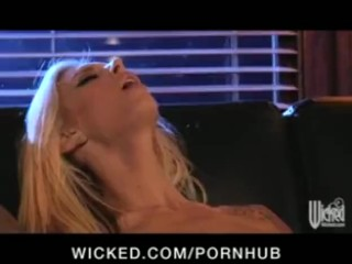 Amwf brooke banner interracial with asian guy 7