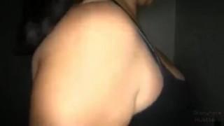 Gloryhole Hustlers Eva Swallows Visit4  eva swallow latino latina blow job homemade cumshot blowjob gloryhole