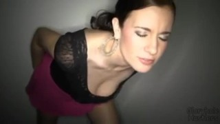 Gloryhole Hustlers Taylor3 Fucks, Sucks and Swallows  milf mother swallow orgasm taylor mom blow job cumshot blowjob gloryhole