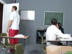 sexy schoolgirl Gia Steel gets her wet pussy fucked by her prof