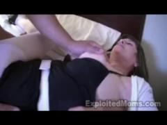 60 yr old Grandma Takes Big Black Cock in Interracial Video
