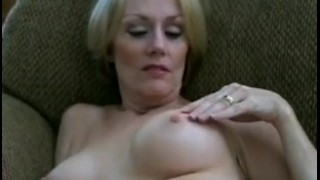 Deep Cream Injection for Melanie  big tits sclip homemade bareback creampie cuckold mom blonde blowjob amateur cum handjob milf mature cougar mother housewife