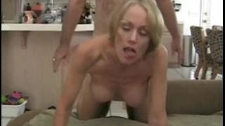 Deep Cream Injection for Melanie  big tits sclip homemade bareback creampie cuckold mom blonde blowjob amateur cum handjob milf mature cougar mother housewife