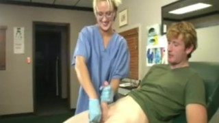 Nurse Milks Young Boy and Gets Blasted With Jizz sclip cumshot natural-tits handjob orgasm big-dick blonde fetish big-cock cumblastcity-com extreme