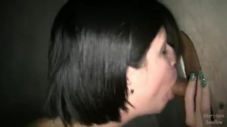 Kathryn Dupri at Gloryhole Swallow  swallow dupri kathryn cumshot blowjob gloryhole